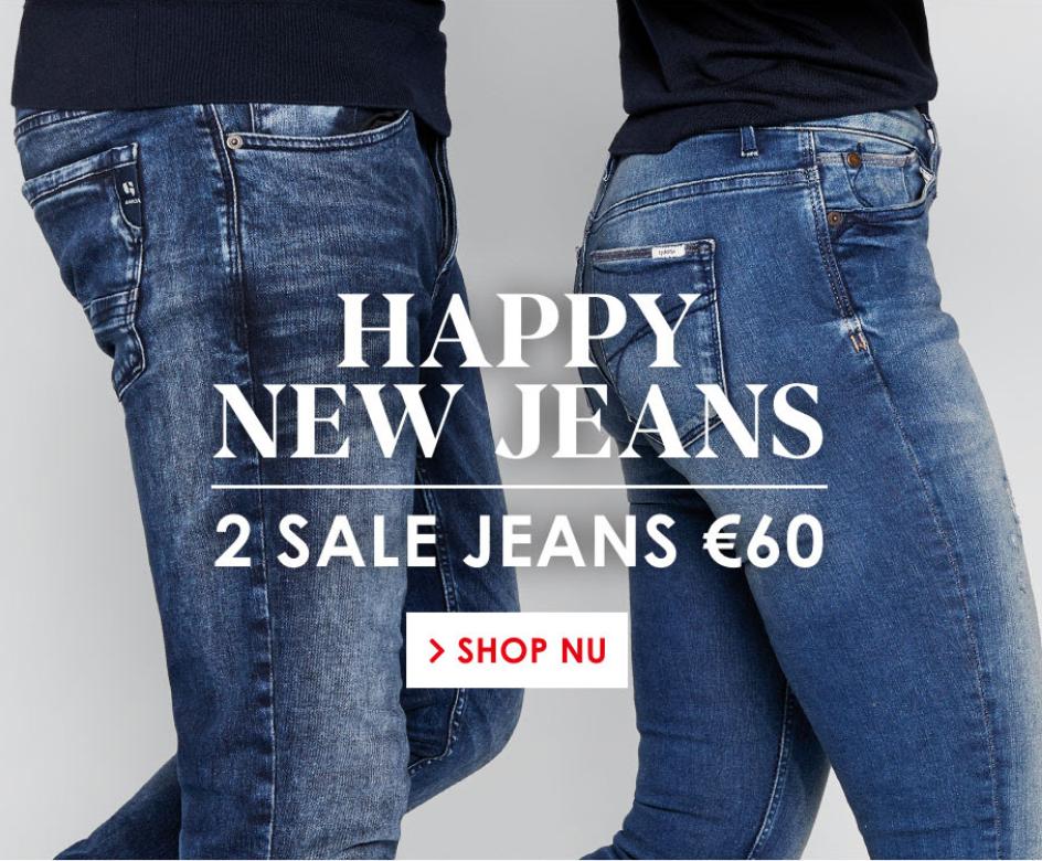 2 Jeans voor €60 - Sale - Jeans Centre