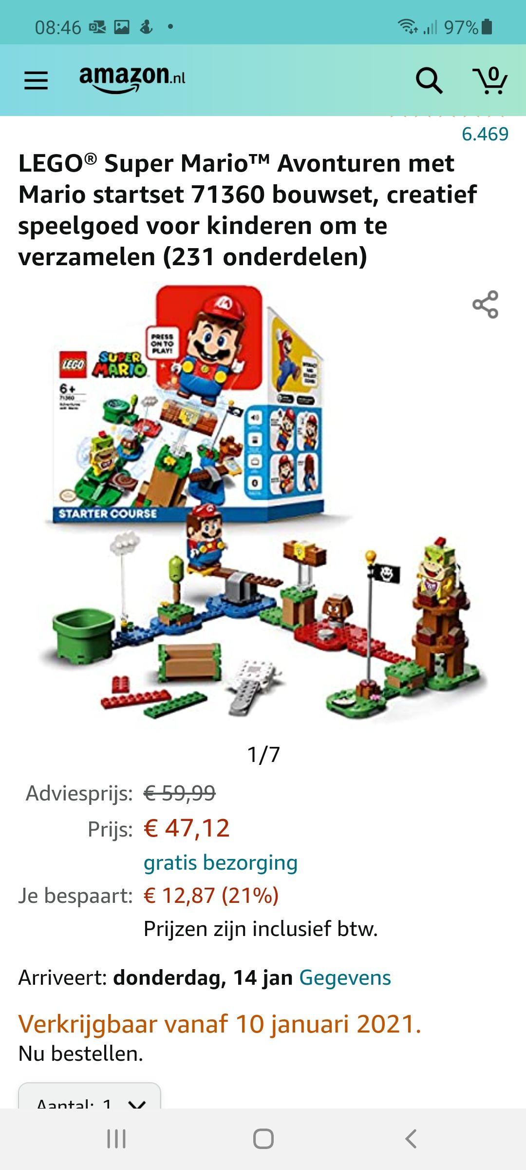 LEGO Super Mario starterset 71360