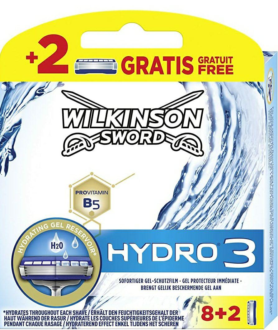 40 stuks Wilkinson Sword Hydro 3 mesjes