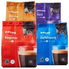 Plus Koffiepads 1+1 Gratis