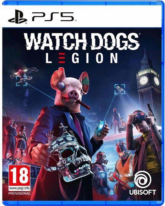 Watch dogs legion PS5 voor €34,99 @Amazon