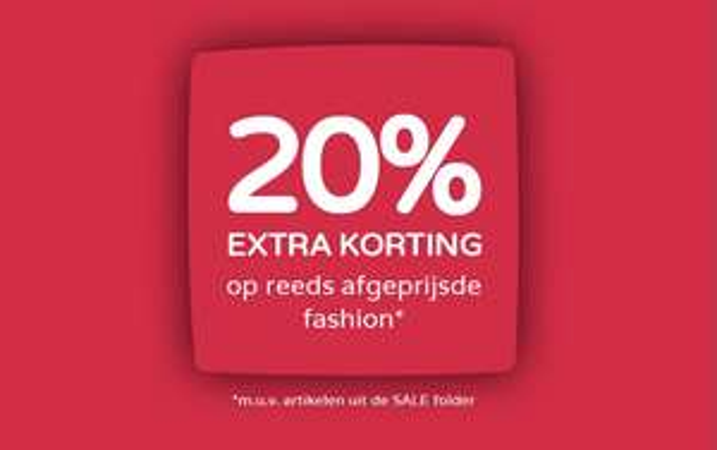 20% extra korting op afgeprijsde fashion @ Prénatal