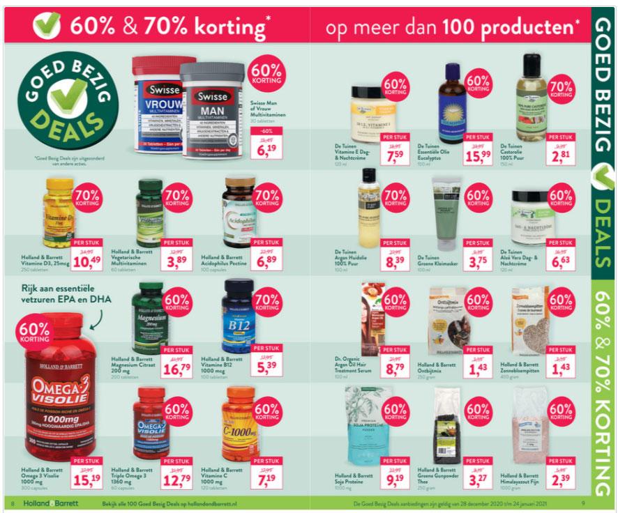 'Goed Bezig Deals': 125+ artikelen 60% of 70% korting