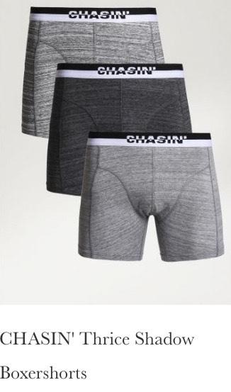 3x 3 pack = 9 boxershorts voor totaal slechts €30,-