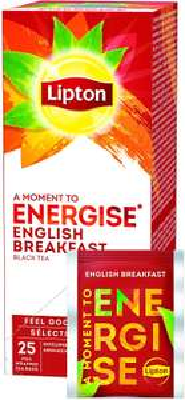 Lipton English Breakfast Thee - 6 x 25 zakjes