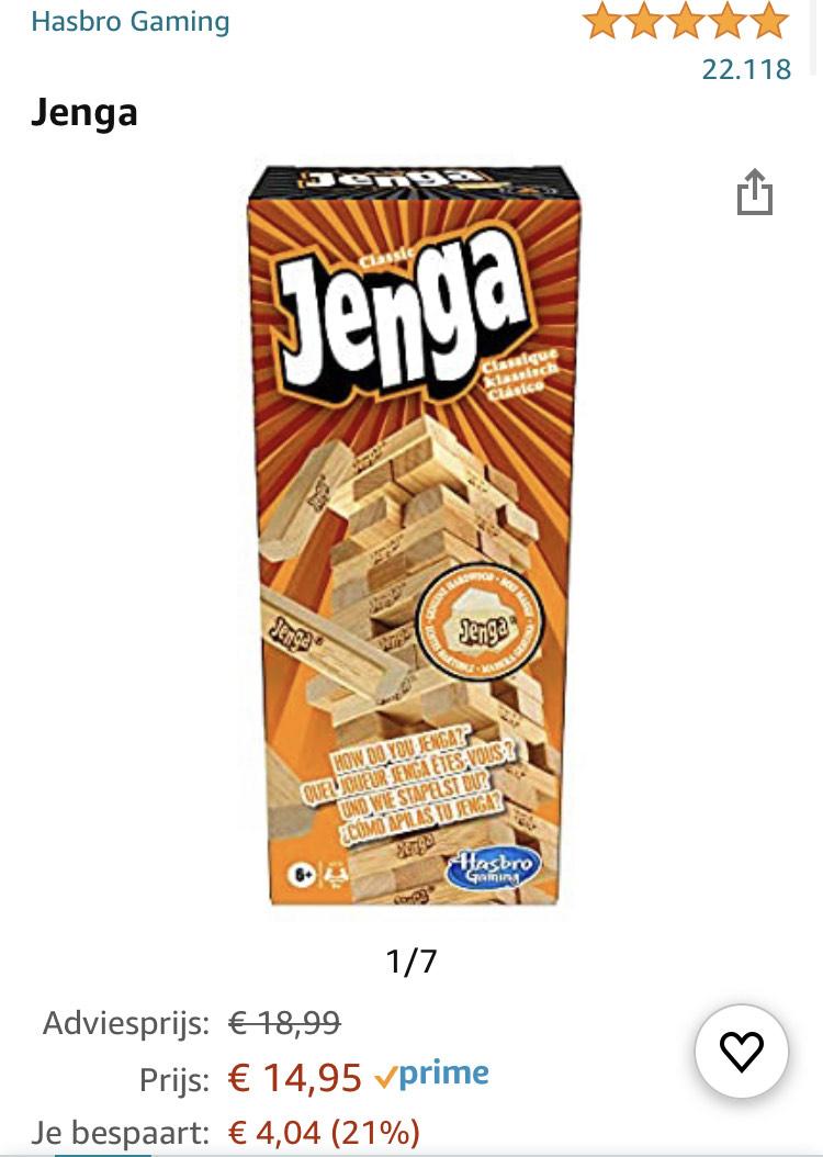 Jenga - Hasbro Gaming