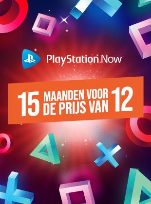 Playstation Now (niet PS+) - 15 maanden voor de prijs van 12 maanden