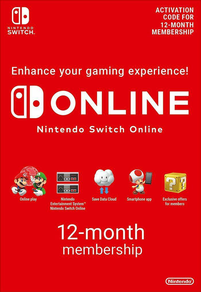 Nintendo Switch Online, 12 maanden voor €14,78. Familie abonnement voor € 27,97. Cashback mogelijk van 5%