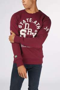 Superdry sweater T&F Classic Crew [was €69,99]
