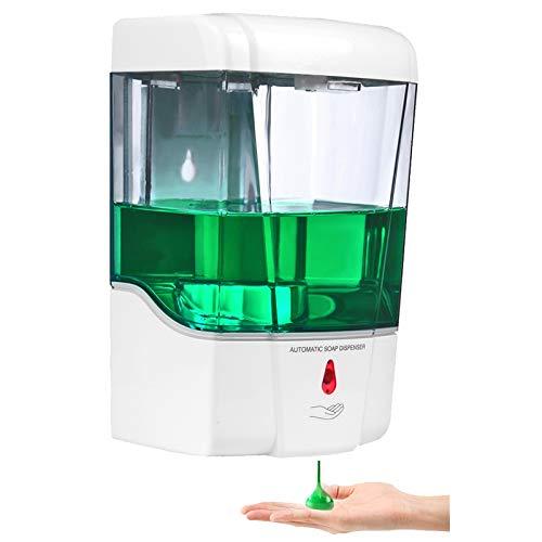 Zeep en handgel dispenser met ingebouwde IR sensor