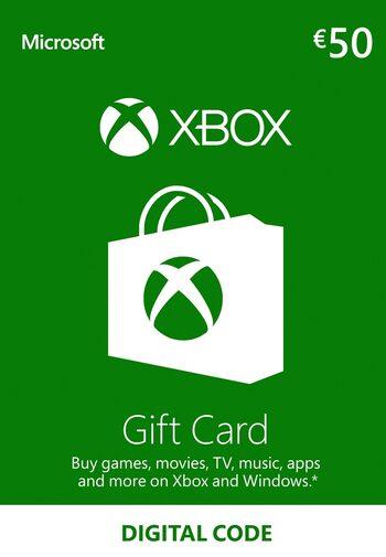 Xbox Live Gift Card €50 (digitale code) voor €43,04 @ Eneba