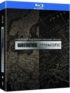 Band of Brothers & The Pacific Blu-ray Boxset @ Amazon NL