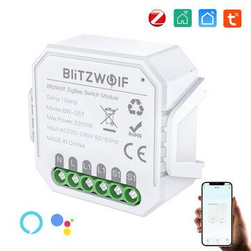 BlitzWolf® BW-SS7 ZigBee3.0 Smart lichtschakelaar @BangGood CN