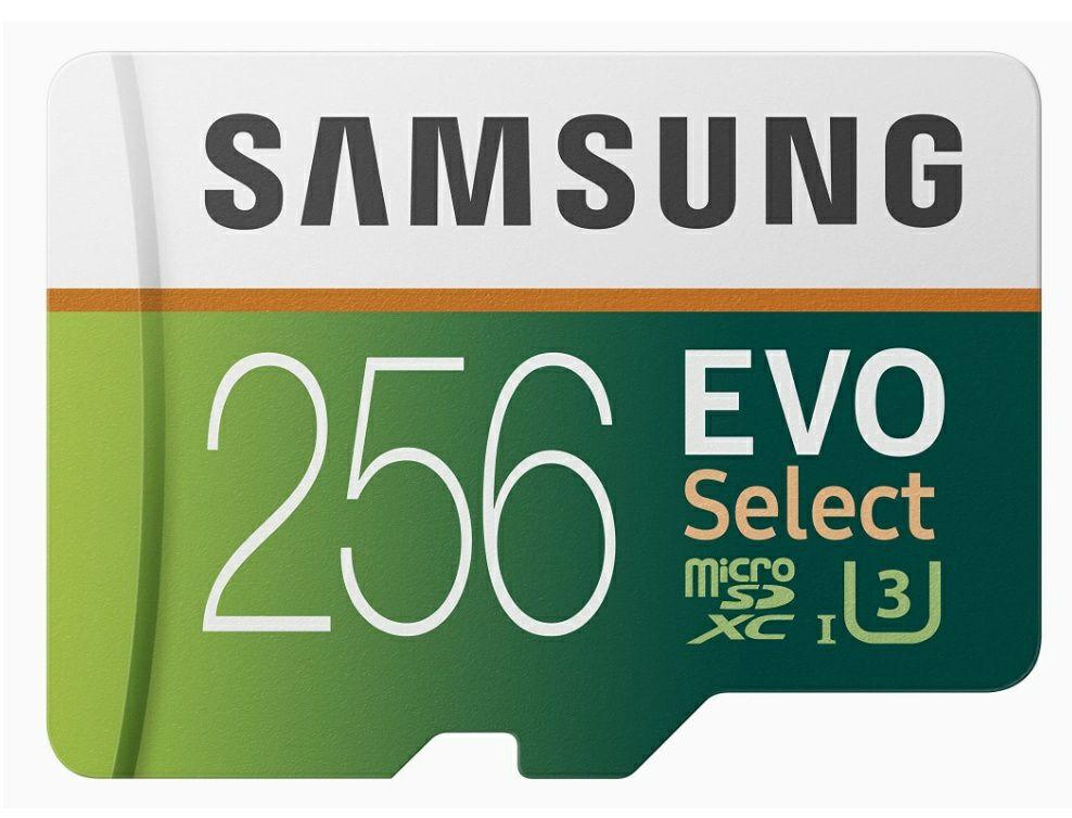 Samsung EVO Select 256 GB microSD