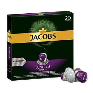 Jacobs koffiecapsules Lungo Intenso 200 stuks