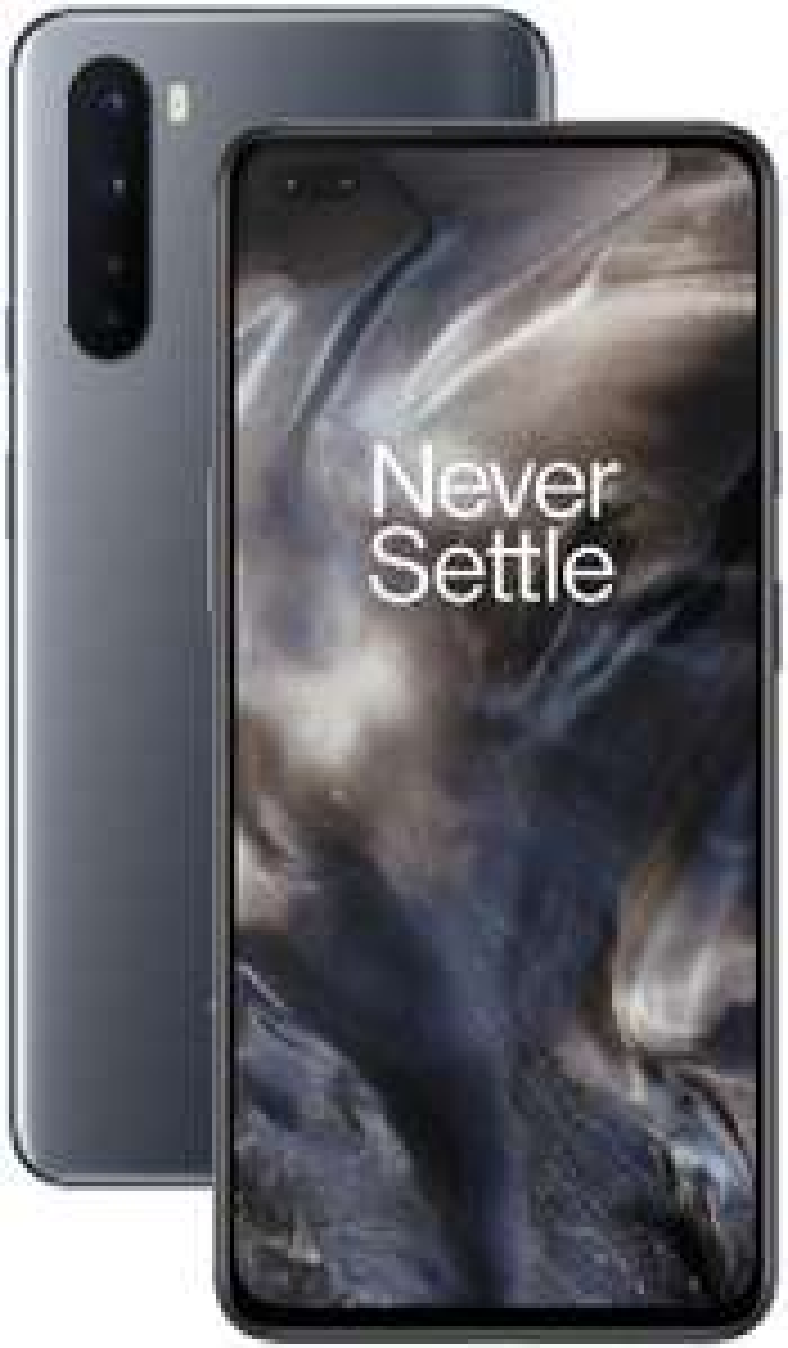 OnePlus NORD Smartphone Onyx Grey   8GB RAM + 128GB Opslag