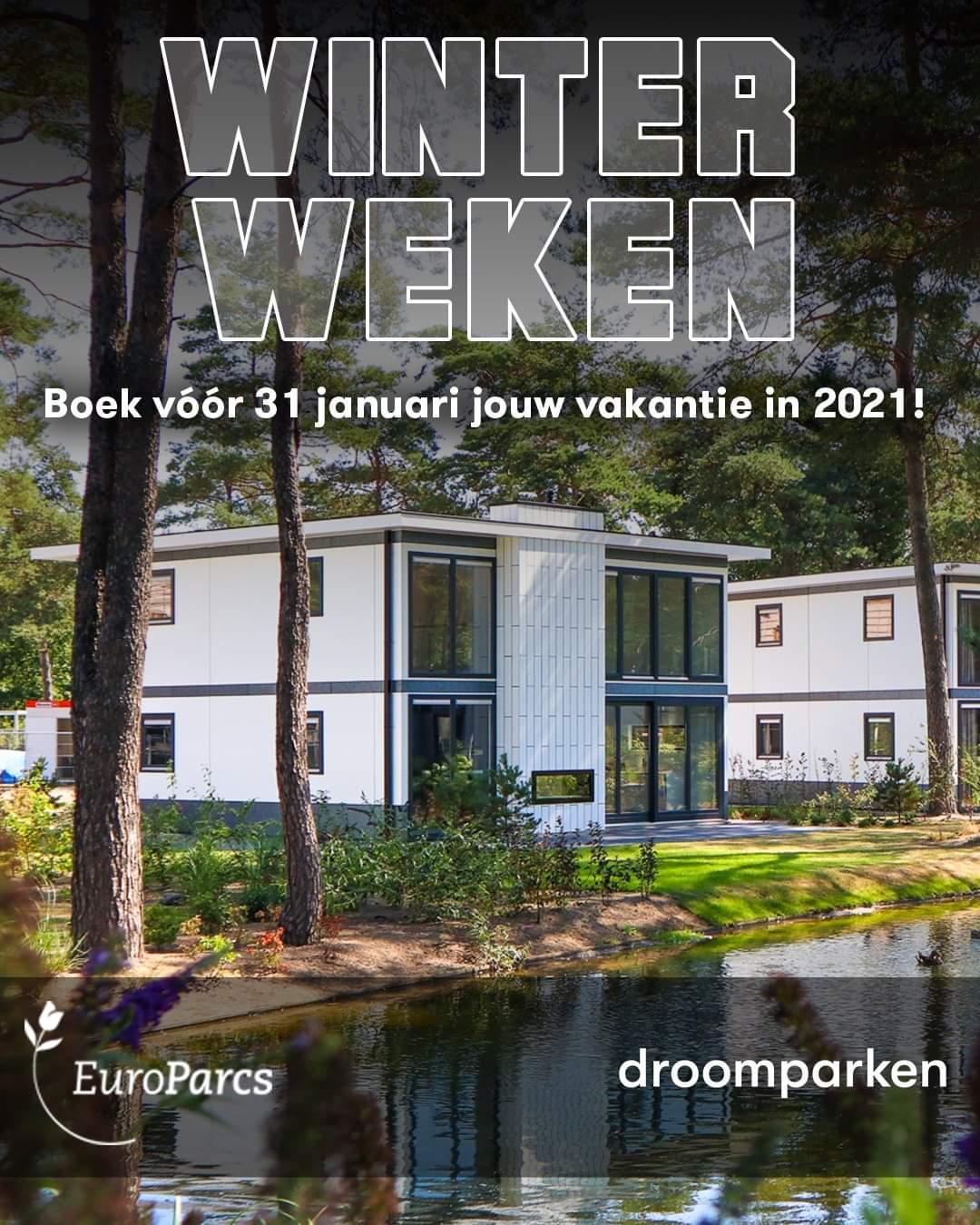 20% korting bij een boeking vóór 31 januari 2021 + gratis Feyenoord-zomerpakket @ Droomparken & EuroParcs