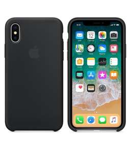 iPhone X Back Cover Siliconen - Apple