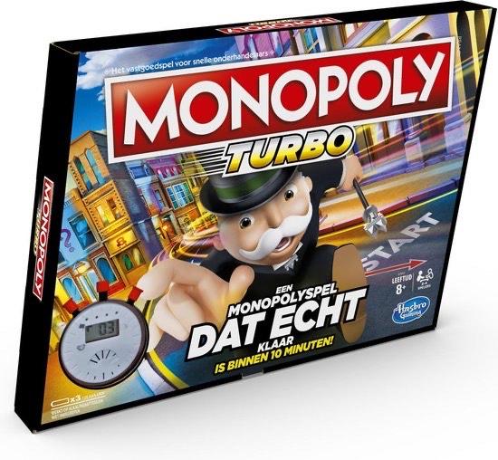 Monopoly Turbo (snel)bordspel @ Intertoys