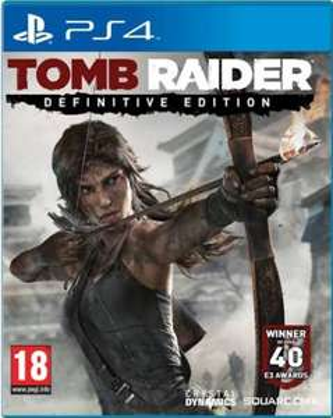 Tomb Raider: Definitive Edition PS4