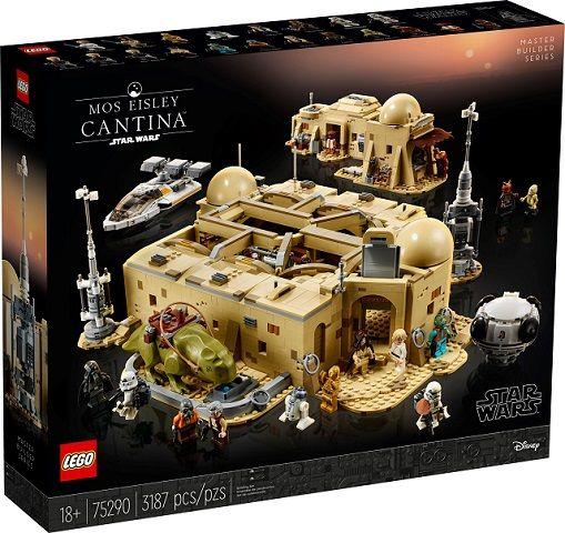 Mos Eisley Lego set 75290