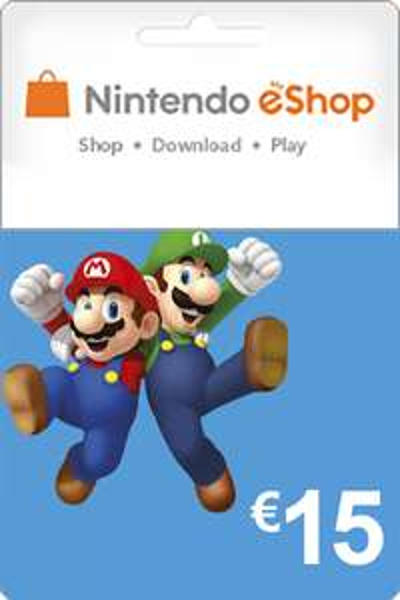 Nintendo Gift Card van 15 euro @ Livekaarten