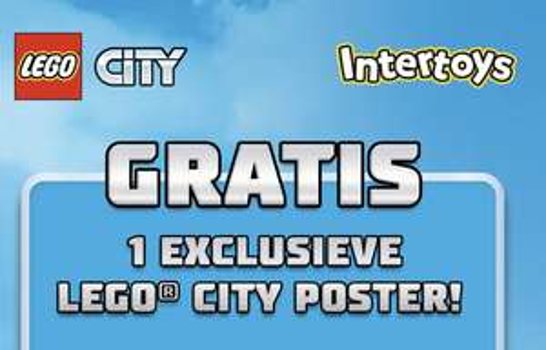 Gratis LEGO City poster + Kans op LEGO City @ Intertoys