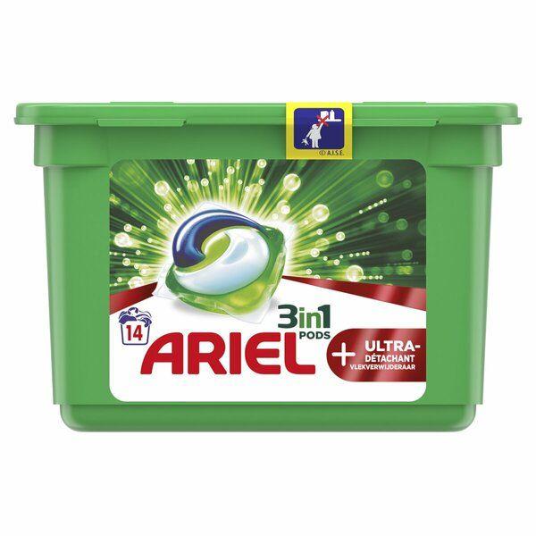 2 Oral-B floss + Ariel pods voor €3,19