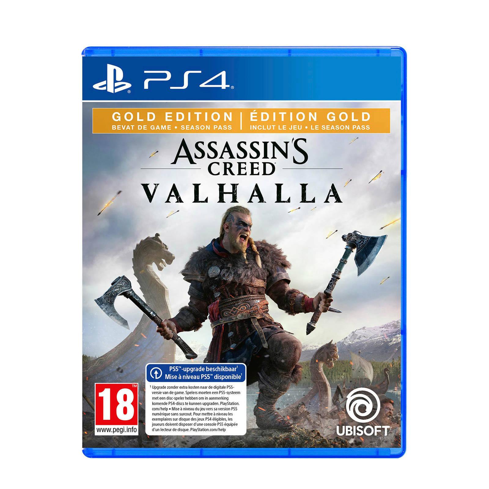 Assassin's Creed: Valhalla - Gold Edition (PS4/XB1) @ Wehkamp