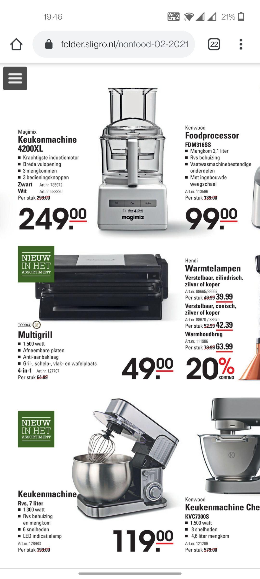 Magimix keukenmachine 4200XL