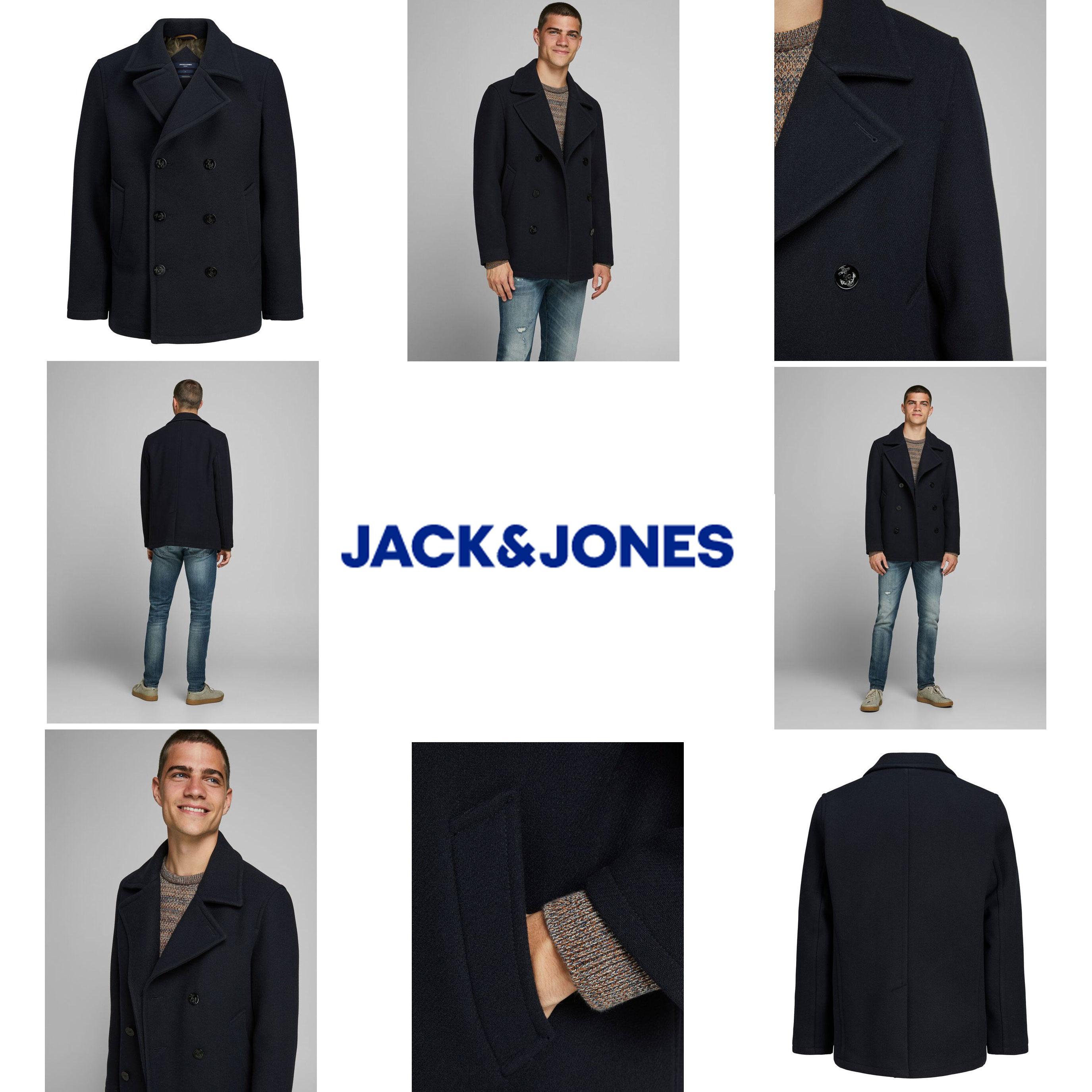 Jack & Jones Premium wolmix jas [was €149,99]