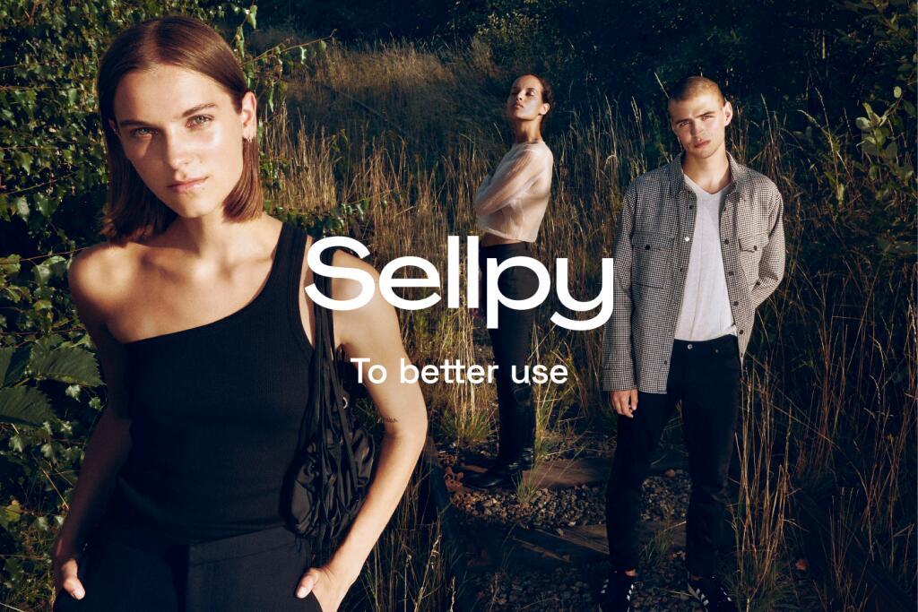 20% korting op eerste aankoop op Sellpy