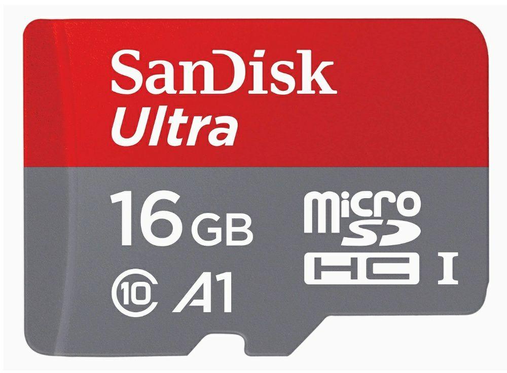 SanDisk Ultra 16 GB microSDHC