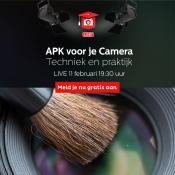 APK voor je camera: techniek en praktijk - Zoom Academy Live - Schrijf je nu gratis in!