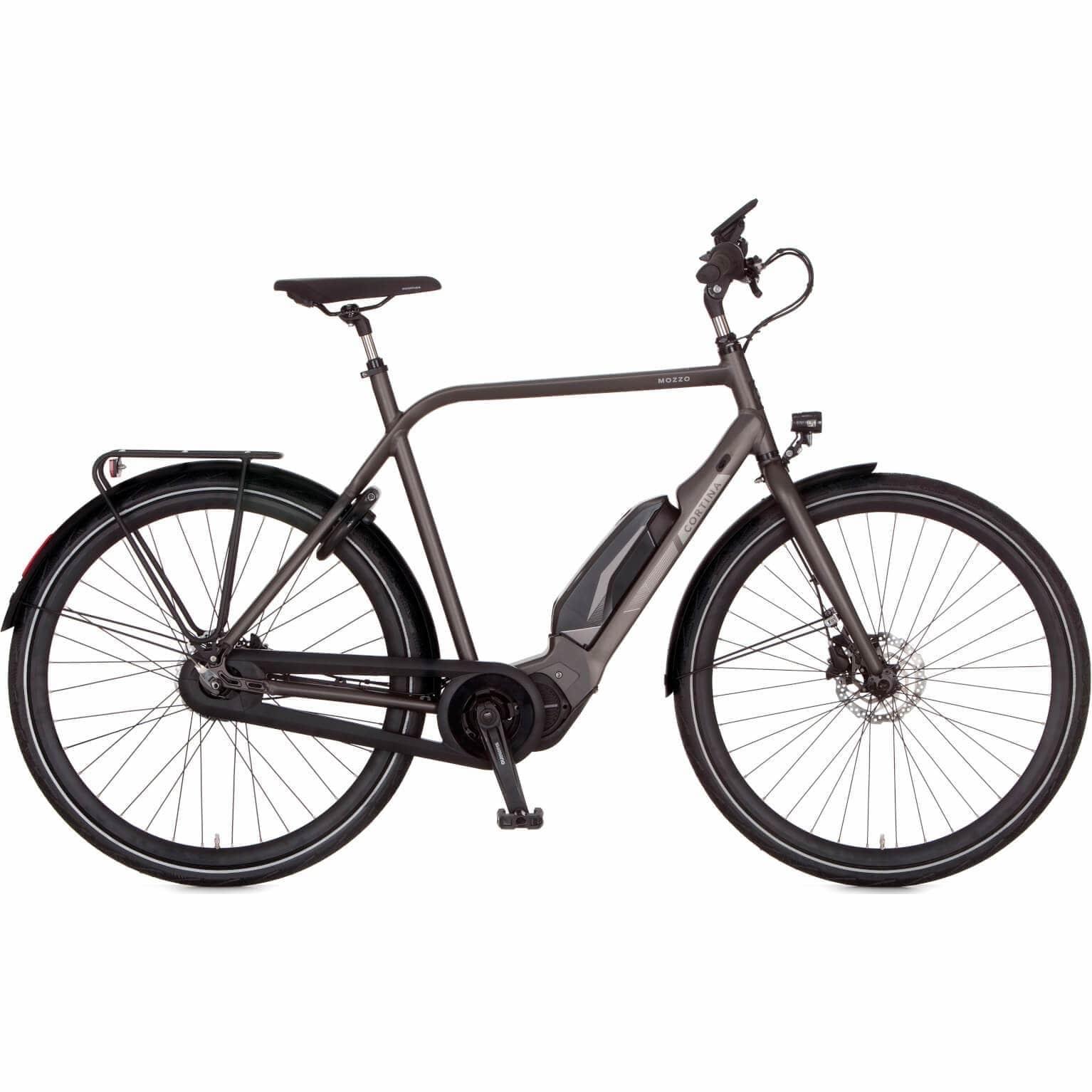 Elektrische Fiets - Cortina E-Mozzo DB8 E-Bike (alleen herenmodel, groot frame)