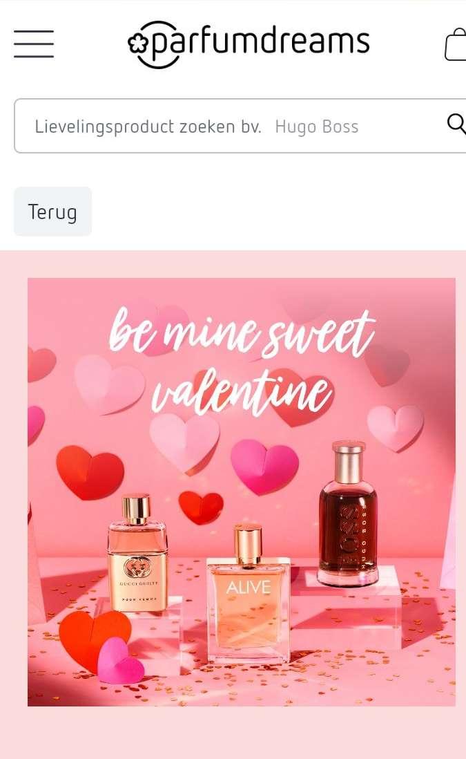 Parfum en drogisterij website Parfumdreams