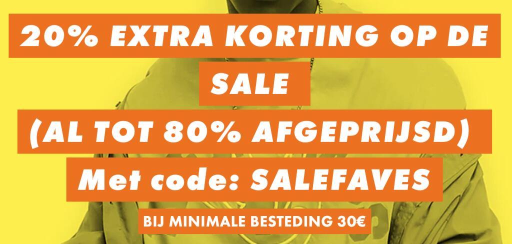 Asos | 20% extra korting op de SALE | Minimale besteding €30,-