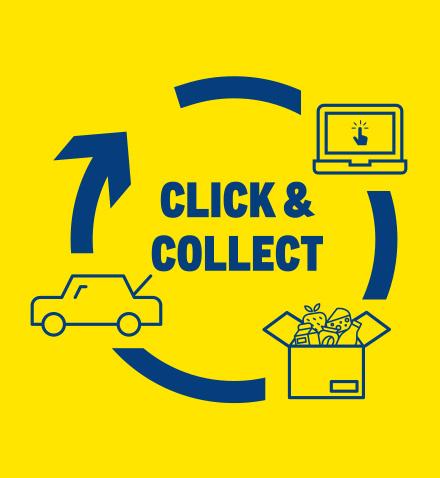 Alle click en collect winkels + datums van ingang