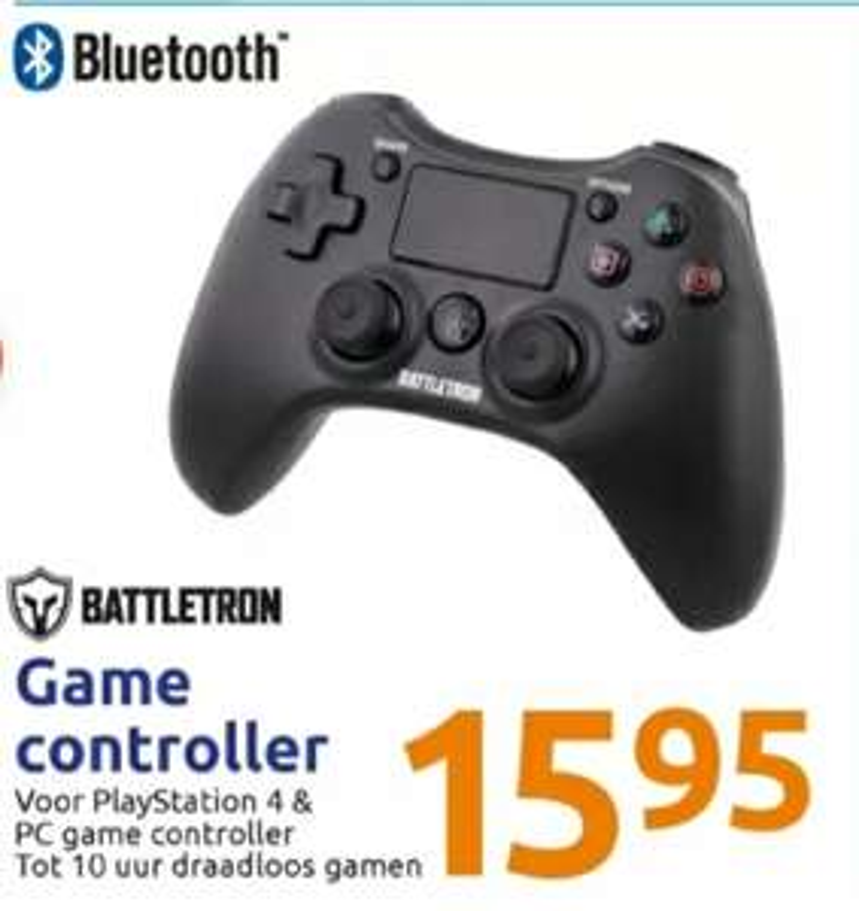 Battletron draadloze PS4/PC controller @ Action
