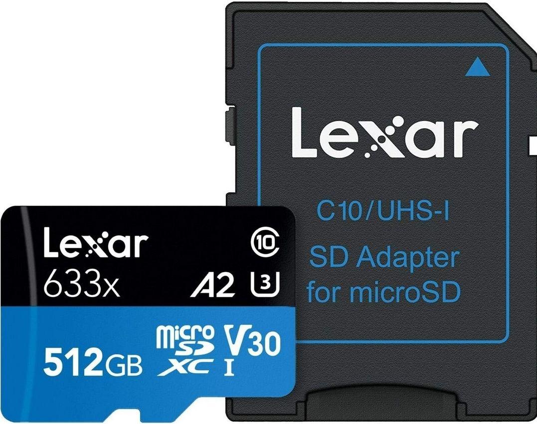 Lexar 512GB MicroSDXC