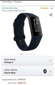 Fitbit Charge 4 Storm Blue
