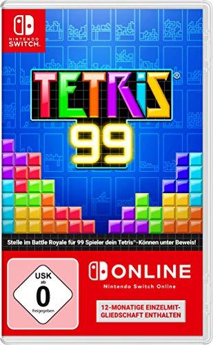 12 maanden nintendo online + Tetris Big Block DLC (fysieke card)