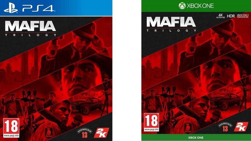 Mafia Trilogy PS4/XBO   Gratis Prime verzending