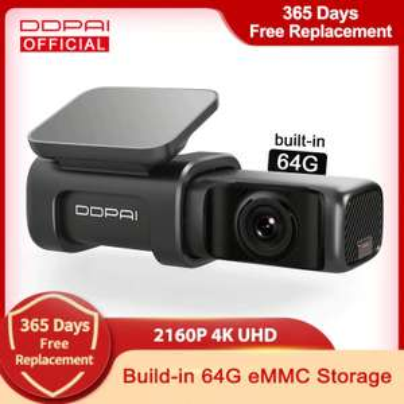 DDPAI Mini Dashcam 5 4K / 64GB / GPS - uit Spanje