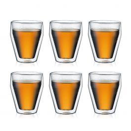 Set van 6 dubbelwandige Titlis glazen 0.25L voor €23,35 (was €74,90) @ Bodum