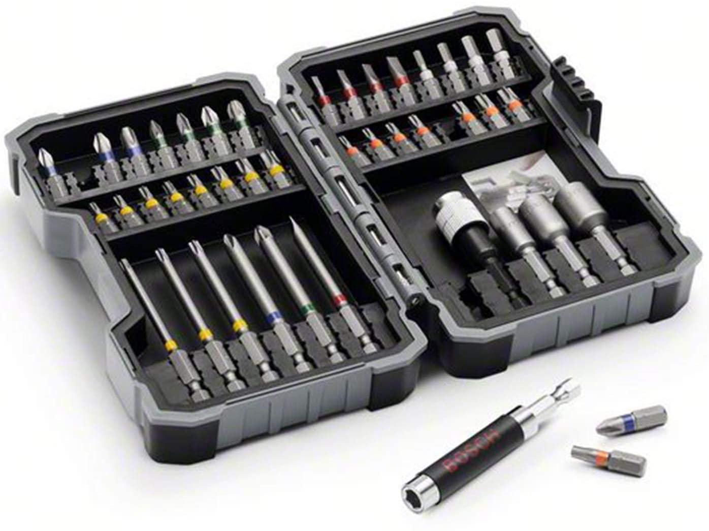 Bosch Professional 43-delige schroefbitset (accessoire schroefboormachine) [Energieklasse A+]