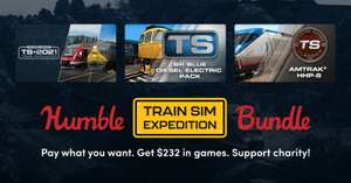 Humble Train sim expedition bundle