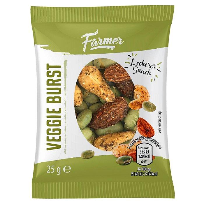 Notenmix of Fruitmix 10 zakjes van 25 gram €1 @ Die Grenze (74% korting)