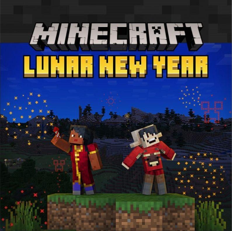 Minecraft - Gratis Chinees Nieuwjaar content!