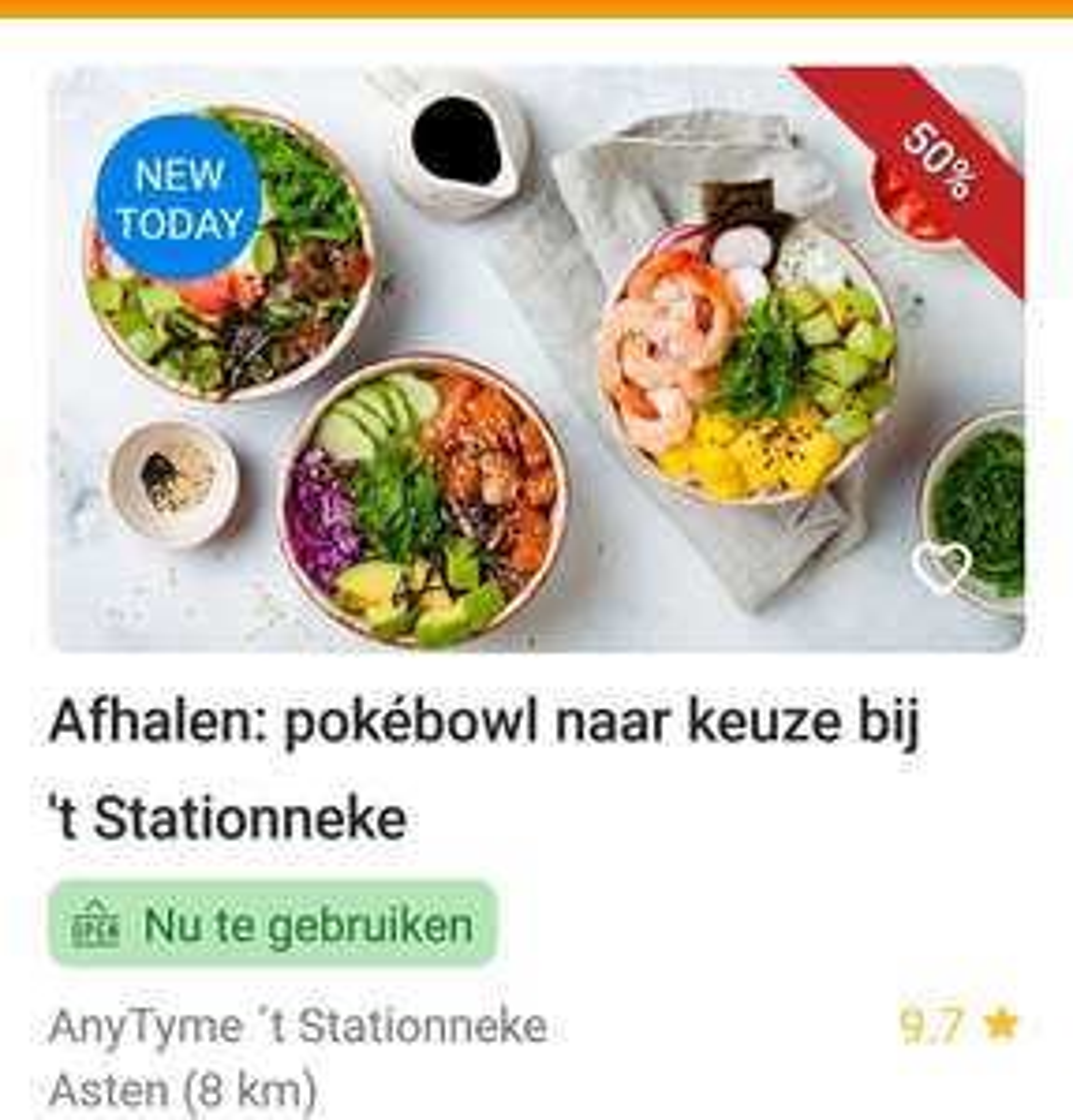 (LOKAAL) Pokebowl bij 't Stationneke Asten (omgeving Helmond)